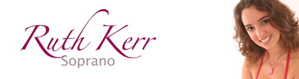 Soprano Ruth Kerr, official website